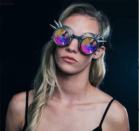 Goggles-steampunk-brille-Punk-Gothic-Goggles-Cosplay-Vintage-Niet-Steampunk-Goggle-kaleidoskop-gl-ser-Retro-EDM